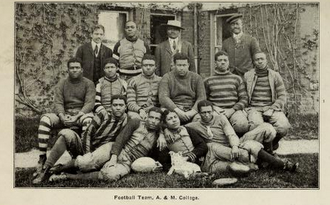 North Carolina A&T Aggies football - Image: 1907 A&T Football Team
