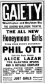 1915 Gaiety theatre BostonGlobe 21March.png