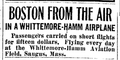 1919 WhittemoreHammAviation Saugus BostonGlobe Sept27.png
