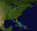 1932 Atlantic hurricane 3 track.png