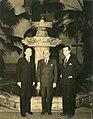 1944. Diciembre. Rafael Caldera con Leo S. Rowe y Tomás Liscano, en Washington, DC.jpg