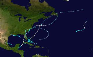 1946 Atlantic hurricane season hurricane season in the Atlantic Ocean