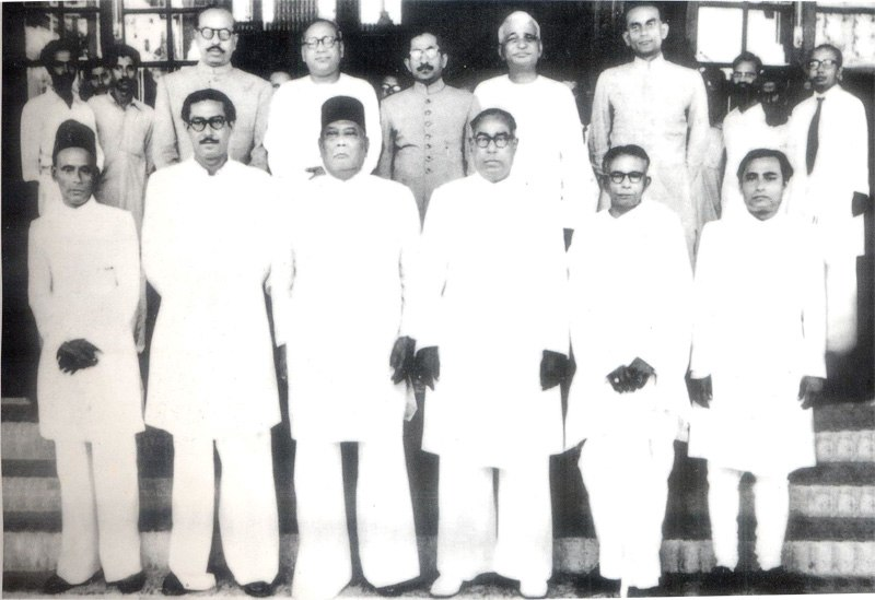 1954 east bengal cabinet