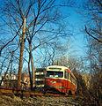 19660414 02 PAT PCC Streetcar Mt. Lebanon, Pennsylvania.jpg