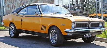 Australian muscle: 1970 Holden HG Monaro GTS 350 V8 - Muscle car