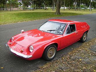Lotus Europa - 1970 Lotus Europa S2
