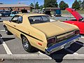 1974 Plymouth Gold Duster at MD-DMV 2015 show 2of5.jpg