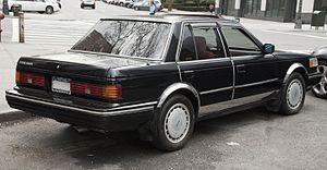 Nissan Maxima - 1987 Nissan Maxima sedan (US)
