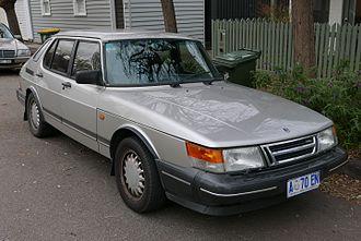 Saab 900 - 1993 Saab 900 Turbo 5-door