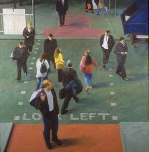 Oliver Bevan - Image: 1995 OLIVER BEVAN Walk