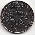 1 песо. Куба. 2000. Новое тысячелетие - Аэростат.jpg