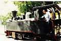 """2-4-0 Tubize steam engine (1903) """"VOLOS"""" in Milies station, 1990.jpg"""