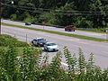 2003-07 Police cruiser stopped a motorist.jpg
