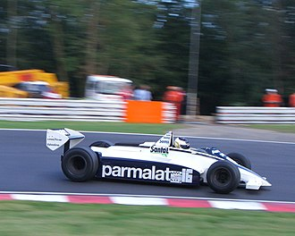 Brabham BT49 - Christian Glaesel driving the BT49D in which he won the 2005 Thoroughbred Grand Prix championship