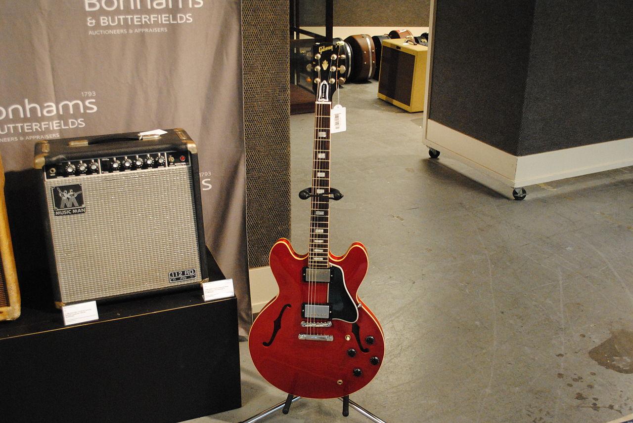 68763279634 File 2005 Gibson ES-335 Crossroads Model Prototype