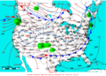 2007-03-11 Surface Weather Map NOAA.png