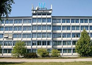 Mitteldeutsche Zeitung - Headquarters of the MZ.