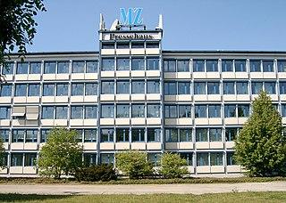 <i>Mitteldeutsche Zeitung</i> German newspaper