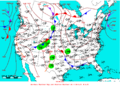 2007-06-12 Surface Weather Map NOAA.png