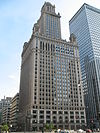 35 East Wacker once housed a 22-story car lift.