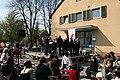 2008-04-27 Berlin Domaene Dahlem Chor der Fleischerinnung Bratwurstmeisterschaft.JPG