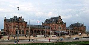 Groningen railway station - Groningen railway station in 2008