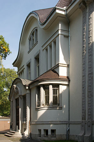 German Institute for Literature - Entrance of the German Institute of Literature