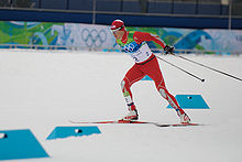 2010 Winter Olympics Todd Lodwick in nordic combined NH10km.jpg