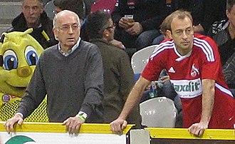 Carsten Cullmann - Cullmann (right) and his father Bernd in 2011