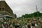 2011 Norway attacks flower march 2