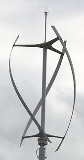 Gorlov helical turbine - Wikipedia