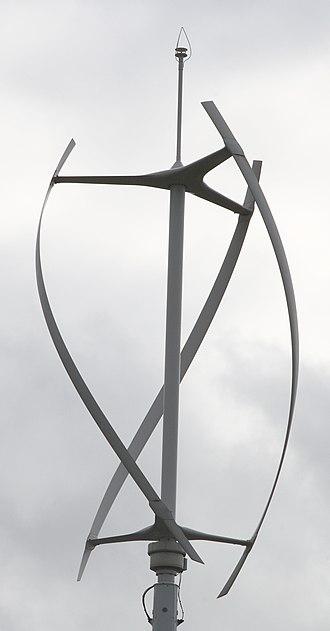 Gorlov helical turbine - quietrevolution QR5 wind turbine