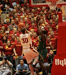 20120303 Royce White Attacking Quincy Acy.jpg