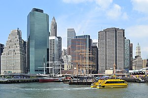 World Chess Championship 2016 - View of the South Street Seaport, the location of the 2016 World Championship