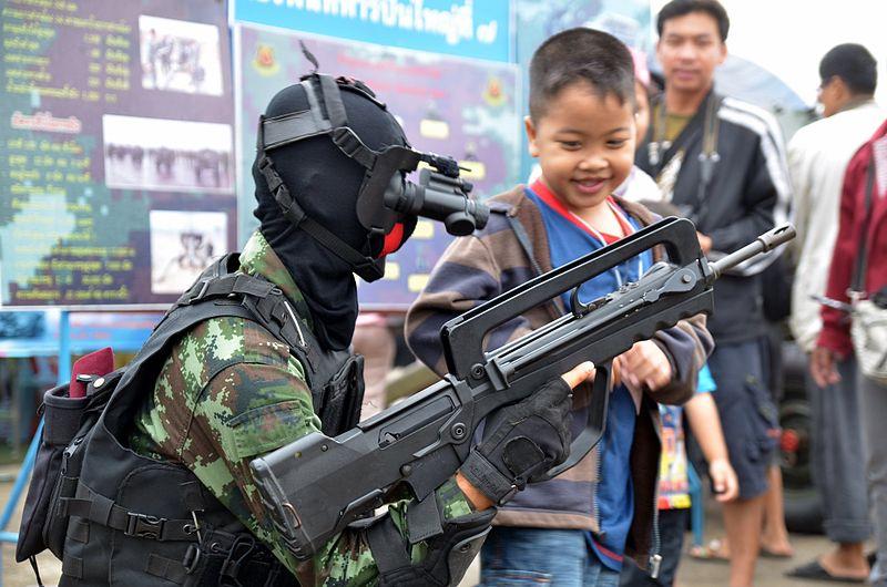 2012 Children%27s Day Chiang Mai rifle.JPG