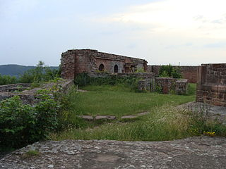 Lindelbrunn Castle rock castle