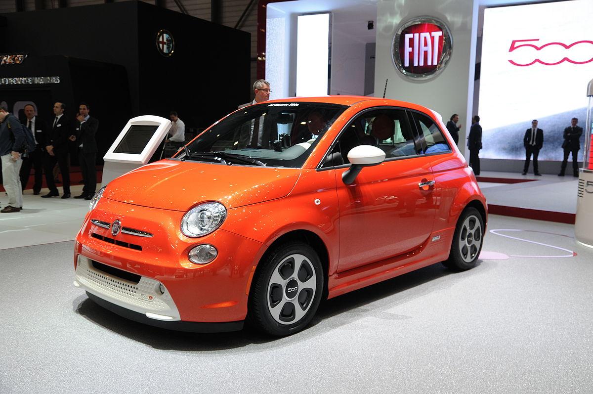 Honda El Centro >> Fiat 500e - Wikipedia, la enciclopedia libre