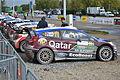 2013 10 05 12-27Rallye France, Parc assistance Colmar, voiture de Thierry Neuville.JPG