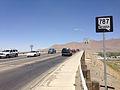 2014-06-12 12 04 25 First reassurance sign along westbound Nevada State Route 787 (Hanson Street) in Winnemucca, Nevada.JPG