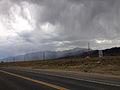 2014-07-30 16 53 20 Rain over the Toiyabe Range viewed from Nevada State Route 376 (Tonopah-Austin Road).JPG