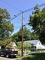 2014-08-27 13 13 10 Utility pole and street lamp at the intersection of Terrace Boulevard and Dunmore Avenue in Ewing, New Jersey.JPG
