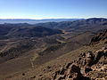 2014-10-19 09 14 53 View south-southeast across the upper end of Meadow Canyon from about 9740 feet along a trail north of Jefferson Summit, Nevada.JPG