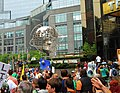 2014 People's Climate Change March at Trump International Hotel and Tower and Time Warner Center.jpg