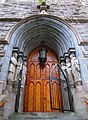 2014 St. Paul the Apostle north front entrance.jpg