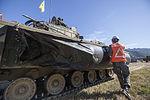 2015.9.22 육군 제11기계화보병사단 북한강 도하작전 Rivercrossing Operations, Republic of Korea Army The 11th Mechanized Infantry Division (22374354987).jpg