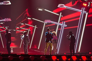 Australia in the Eurovision Song Contest - Image: 20150520 ESC 2015 Guy Sebastian 9251