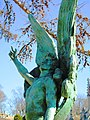 2015 Green-Wood Cemetery angel statue.jpg