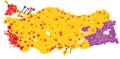 2015 Kasım illere göre milletvekili sayıları haritası.png