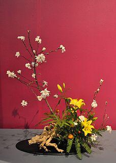 school of Ikebana, or Japanese floral art