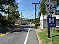 2016-09-13 12 56 15 View west along Maryland State Route 564 (11th Street) just east of Lanham Severn Road in Bowie, Prince Georges County, Maryland.jpg